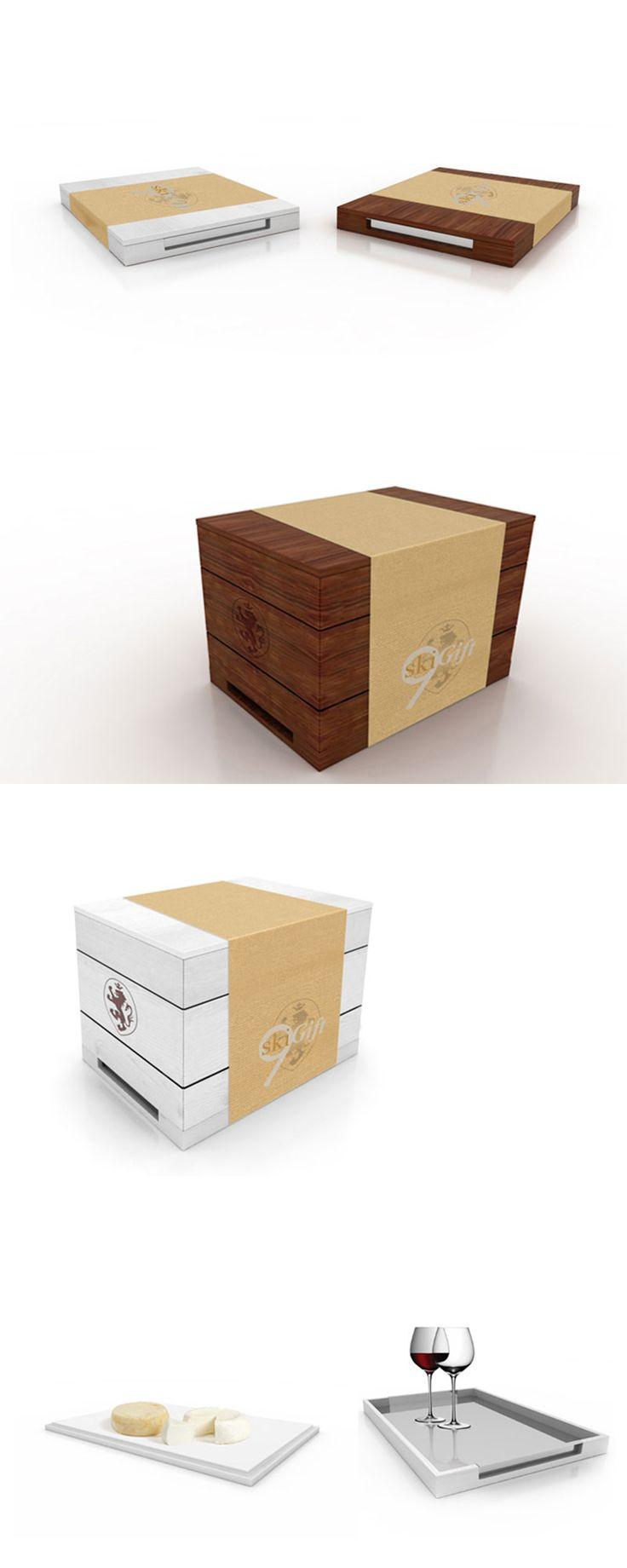 9ski Gift, Packaging Design ─ Giulio Patrizi Design Agency ©   #packaging #coffee #design