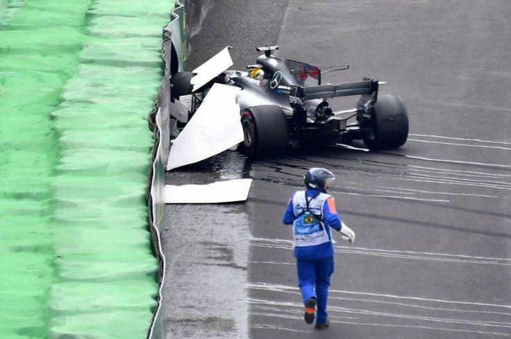 Qualifying in Brasilien: Hamilton baut Unfall, Pole für Bottas - SPIEGEL ONLINE - Sport