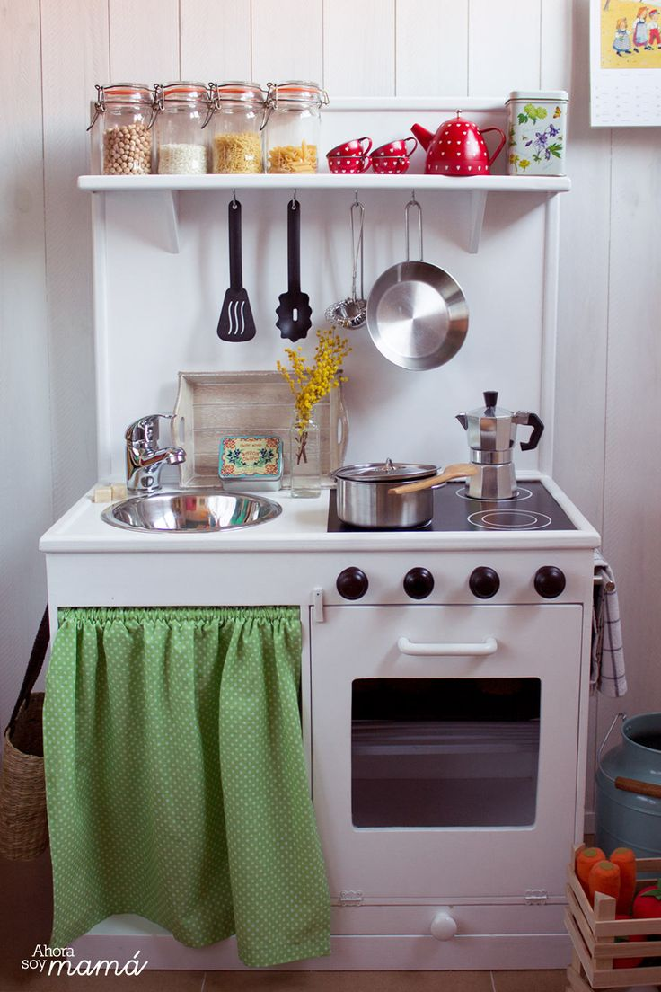 Cocina Juguete Segunda Mano | Mas De 25 Ideas Increibles Sobre Cocinas De Juguete En Pinterest