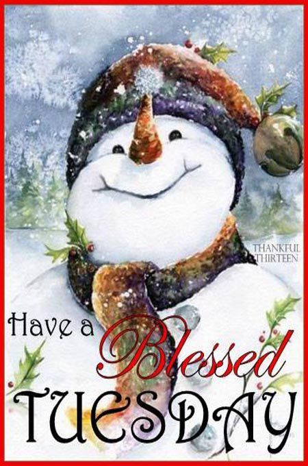 Have a blessed Tuesday! ♥