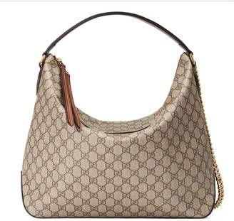 Shop Now - >  https://api.shopstyle.com/action/apiVisitRetailer?id=638275915&pid=uid6996-25233114-59 GG Supreme canvas hobo  ...