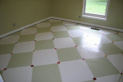 17 best images about painted subfloor ideas on pinterest for Cottage flooring ideas