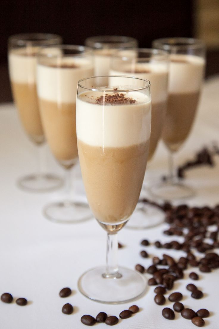Vanilla - Coffee Panna Cotta