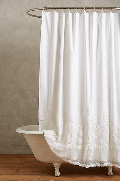 Caprice Shower Curtain Bathroom Shower Curtainsbat Bathroomwhite