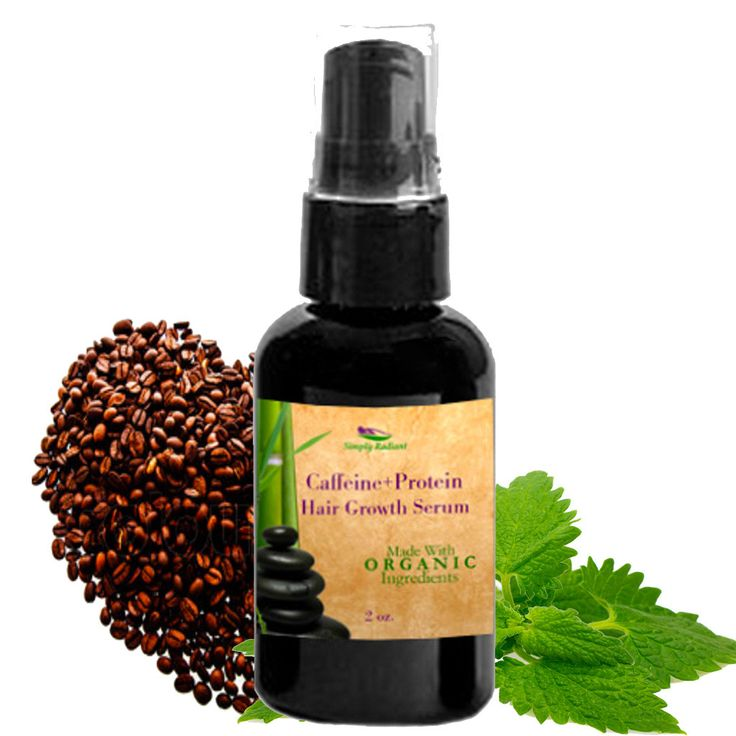 Organic Caffeine + Protein Hair Growth Serum