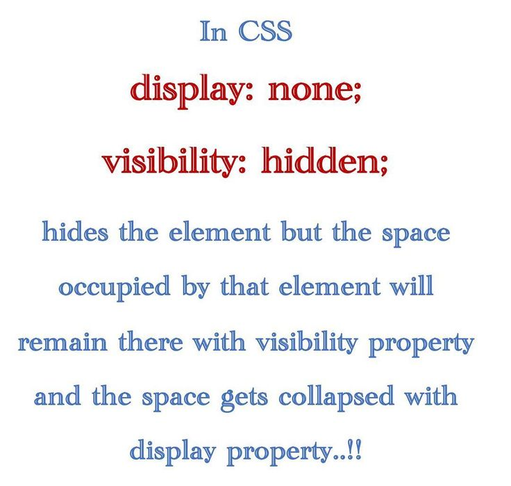 VISIBILITY..!! #html #css #ui #coding #bootstrap #angularjs #frontend  #javascript #jquery #learning #webdevelopment #sql #data #styles #webdesign #java #dotnet #php #jsp #graphics #gui #interface #less #sass #react #yui