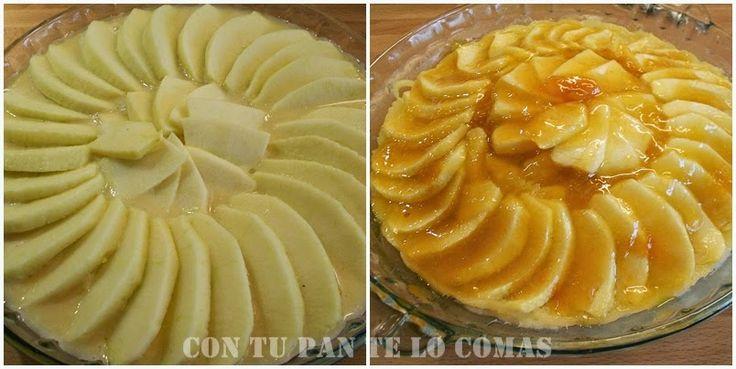 Para no renunciar al dulce aunque estés a dieta, una tarta de manzana facilísima y light.