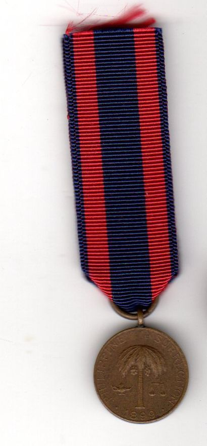 Early Miniature US Army 1899 Spanish War Philippine Insurrection Campaign Medal   eBay