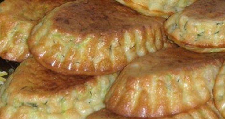 Cukkini muffin, kaporral és fokhagymás tejföllel, ínycsiklandóbbat még nem kóstolunk!