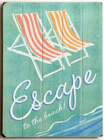 Beach Signs Decor Interesting 147 Best Artwork Images On Pinterest  Beach Beach House Decor 2018