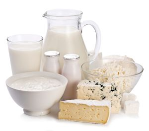 What's in the milk, yoghurt, cheese and / or alternative group?