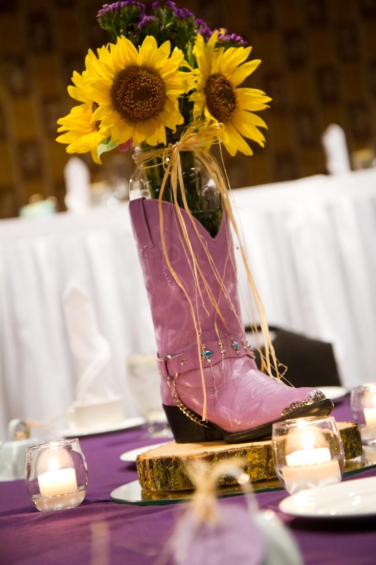 17 Best Ideas About Cowboy Boot Centerpieces On Pinterest