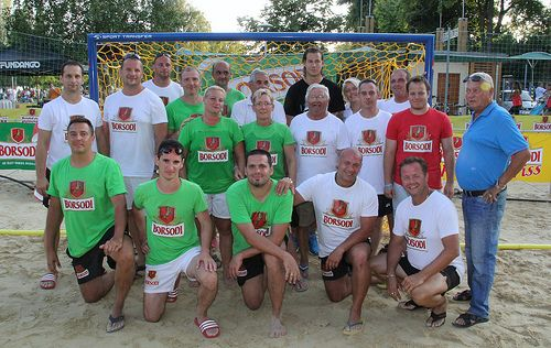 Moments of Beach Handball Championship 2014 in Hungary