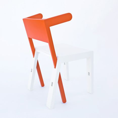 Superbambi by Scoope Design This piece of furniture can switch between a chair, table or step ladder depending on how it's slotted together.