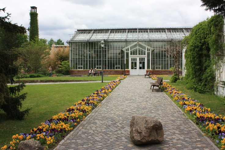 Gewächshaus im Botanischen Garten am Schloss Sanssouci