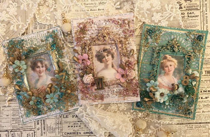 LillBlomman skapar: :: Baroque Ladies for a challenge at 13arts ::