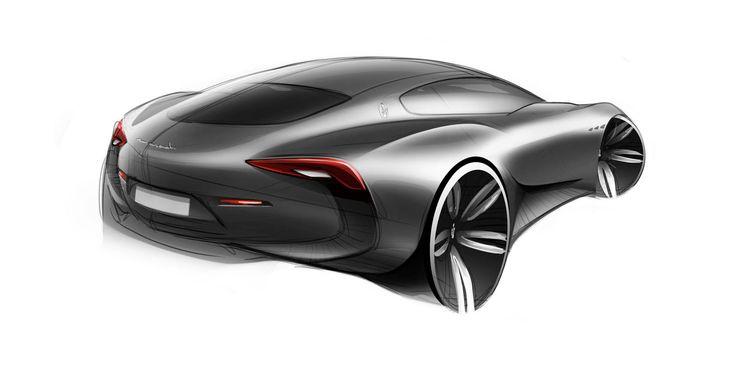 Maserati Alfieri Concept - Design Sketch //
