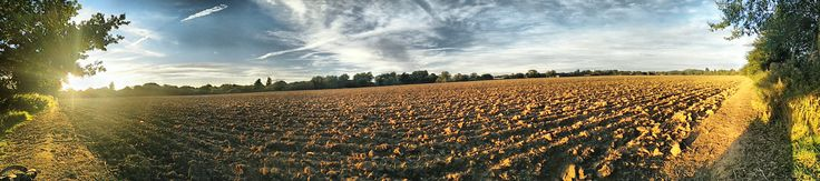 A panoramic shot from Writtle just outside #Chelmsford #Essex on a beautiful Autumnal afternoon