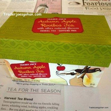 Trader Joe's Autumn Apple Rooibos Tea $1.99 | #TraderJoes  #Apple #RooibosTea