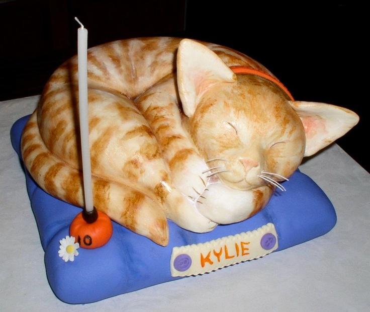 Meeeeow... Kitty Cat Cake
