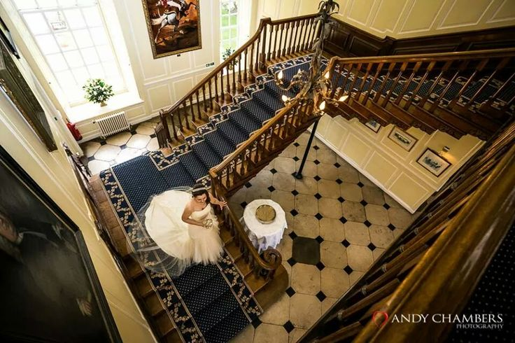 Staircase at Gosfield Hall Andy Chambers Photography