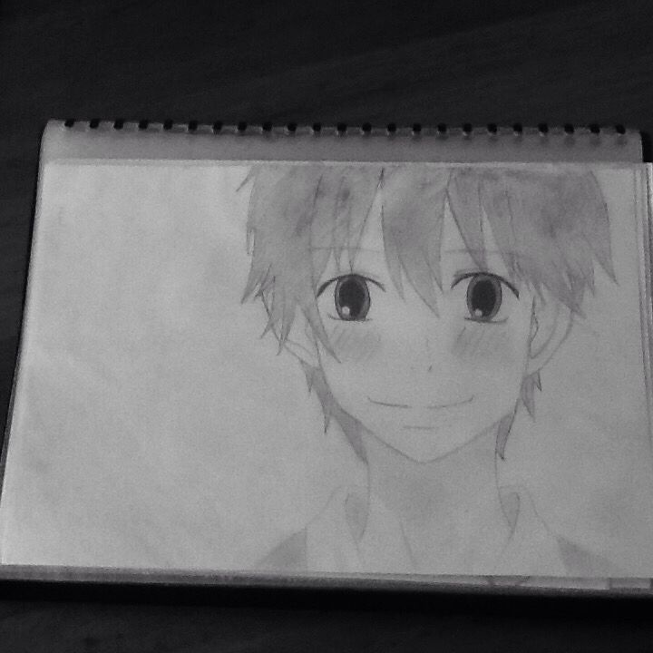 Kazehaya Shouta from Kimi Ni Todoke! I added a filter so you could see it better! By Chloe Pash! \(^o ^)/