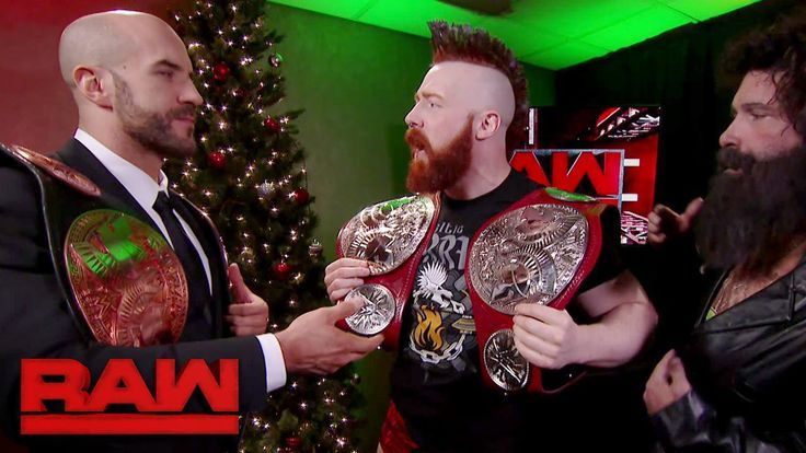 Say hello to the NEW WWE Raw Tag Team Championship titles!