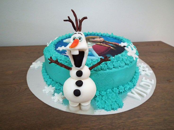 Bursdagskake med Frost-tema  {Bakemagi.no}