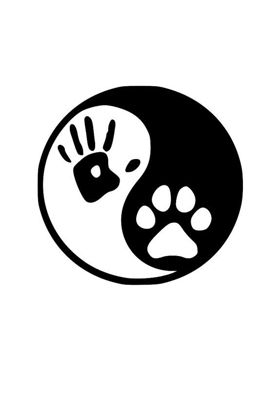Main et patte Ying et Yang par AllAmericanCandV sur Etsy