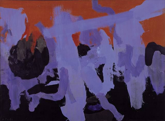 1960 Flintro James Brooks - abstract expressionist
