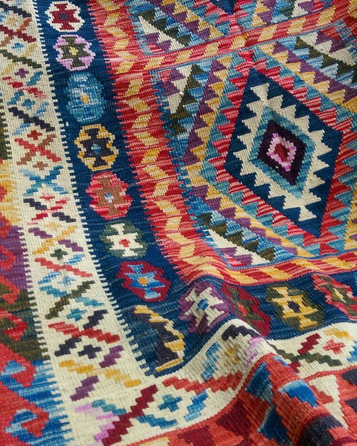 Just in: Our new range of vibrant kilims! Just in time for summer!  #kilims #vibrant #colourful #sydneyinteriors #spring #interiordesign #Sydney #bohemian #decor #homeinspo #homedecor #rug #summer