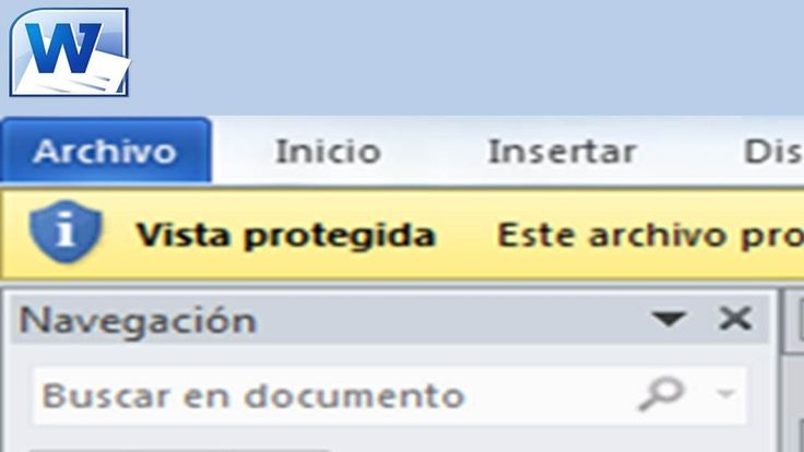 Cómo desactivar la Vista Protegida en Word 2010. Cómo eliminar la Vista ...