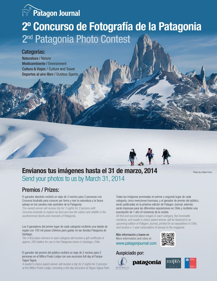 2nd Patagonia Photo Contest - prizes, info