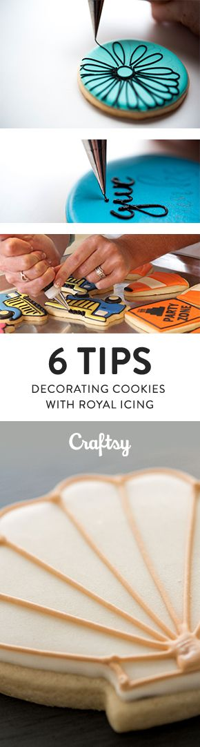 Creating gorgeous decorated cookie designs with royal icing always seems like such a terrifying task! We get asked lots about what tips, tricks or words of wisdom we have on taming and controlling the elusive (and, at times, nightmare inducing) royal icing. With this in mind here's our top tips on how to work with royal icing with ease that'll make your life a little easier!