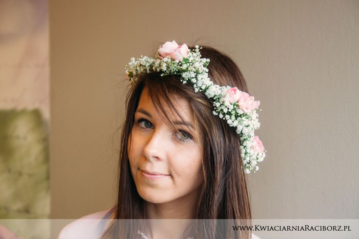 wianek na głowę wesele ślub