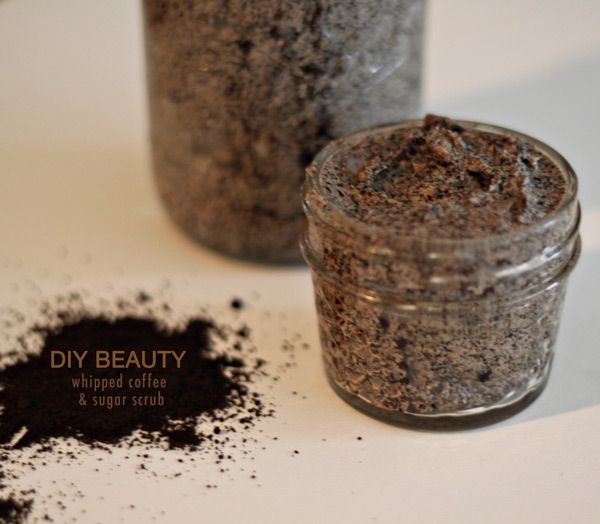 how to make your own coffee scrub