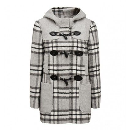 Jenni Contrast Duffle Coat   Forever New