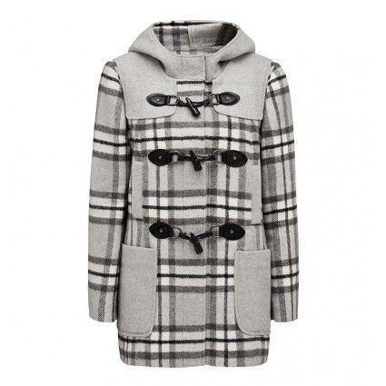 Jenni Contrast Duffle Coat | Forever New