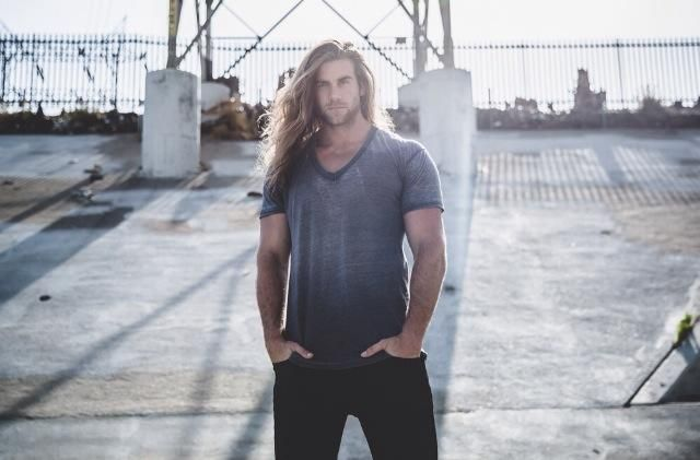 "Brock Hurn This guy is 6'7"".  A modern day Viking if you ask me. Just too much for eyes to handle."