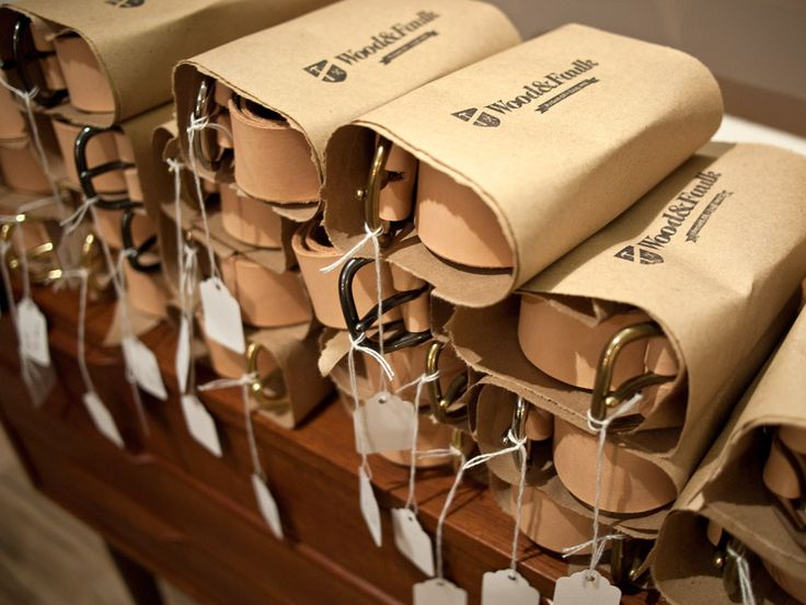 beautiful packaging #wood_and_faulk #packaging