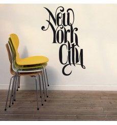 Sticker New York city   Fanastick.com