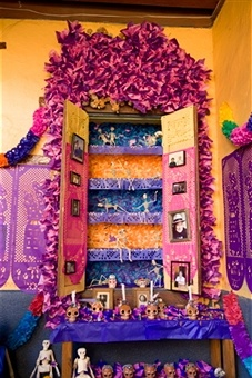 altar day of the dead mexico