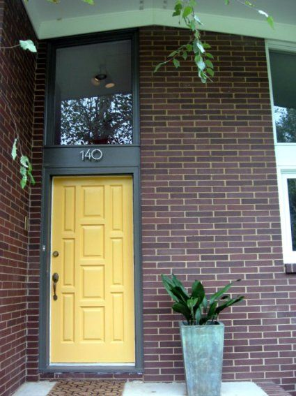 17 best images about mid century modern front doors on for Exterior doors charlotte nc