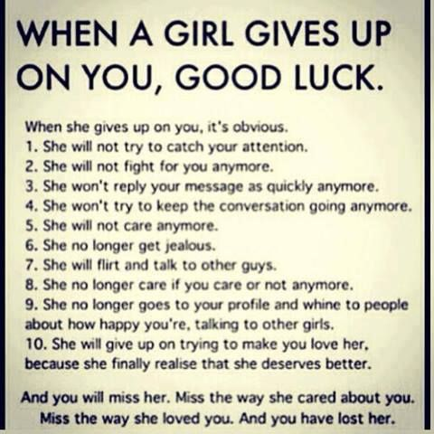 When Should I Give Up On A Relationship