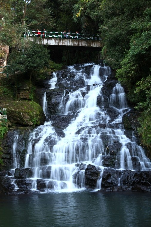 Last and the highest of Elephant Falls in Shillong