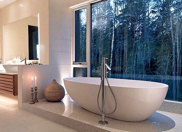 Badeinrichtung japanischer stil minimalistisch for Sofa japanischer stil