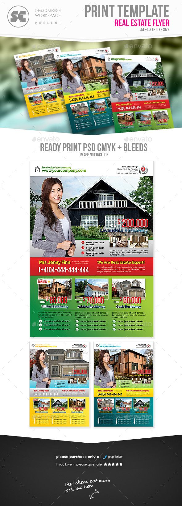 17 best images about psd real estate flyer template real estate flyer