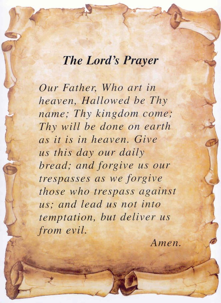 the lord's prayer - Google Search
