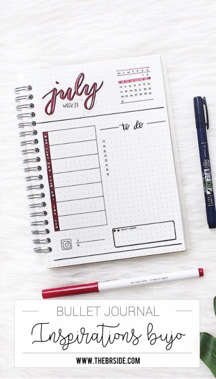 Inspirations Bullet Journal : 10 comptes à suivre de toute urgence ! #2