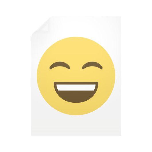 Smiling Emoji Wall Decals